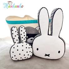 Novelty Rabbit Plush font b Toy b font Cushion Kawaii Animal Bunny Baby Pillow Bed Room
