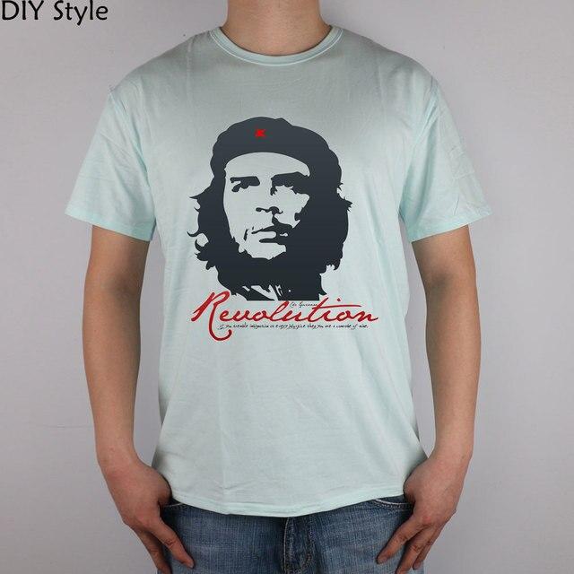Che Guevara Revolution 2016 t-shirts Short Sleeves High Quality Fashion Brand T Shirt Men