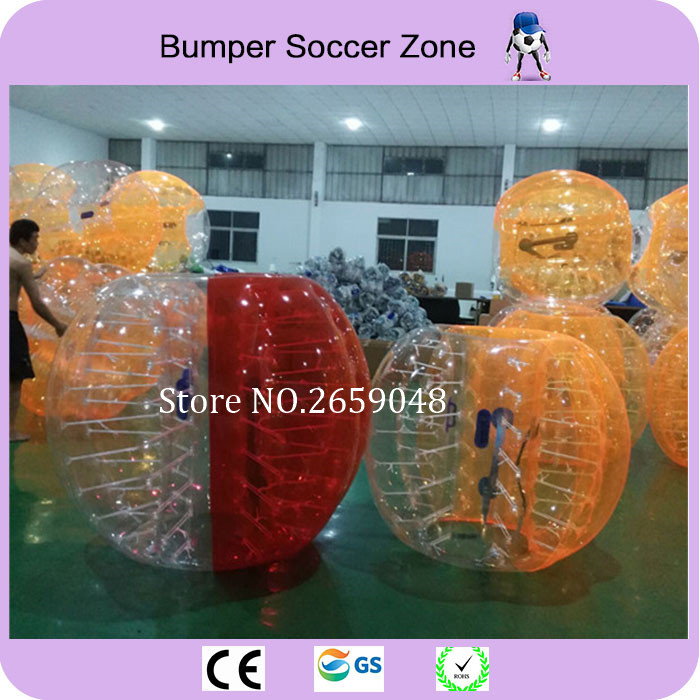 Gratuit de transport 1.5m Bubble gonflabile Bubble Soccer Bubble Fotbal Corp Zorb Ball Bara de protectie gonflabile pentru adulti Sport in aer liber