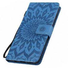 Sunflower Leather Book Cases For Motorola Moto E5 E4 C Plus G7 Power G6 G5 G5S G4 G2 Z4 Play Z Force X Style Card Slot E06Z