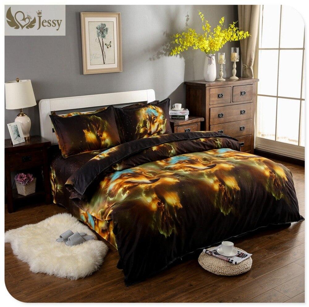 Home Fashion Textile 3D Tiger horse Animal Bedding Sets Wolf Bedding Sets  Mens. Popular Men Bedding Buy Cheap Men Bedding lots from China Men