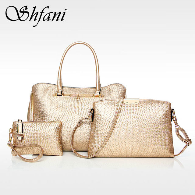 Luxury Bags Designer Handbags High Quality Women Famous Brands 2017 Leather Bag Set Purses And