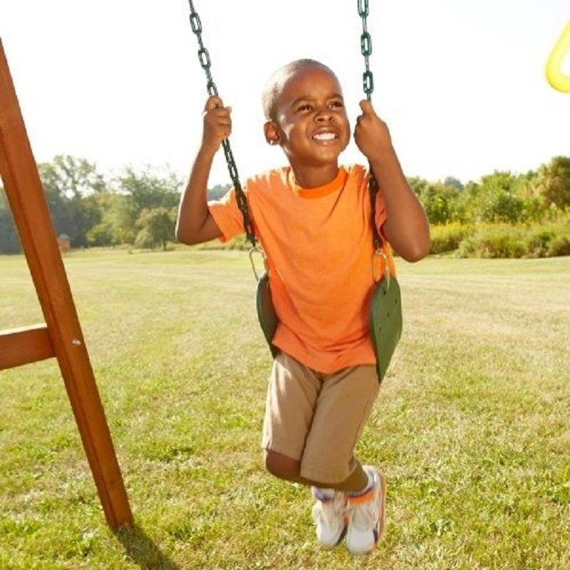 YONTREE 1 Piece Swing EVA Hanging Chiar Camping Hammock Kindergarten Chain with Board for Single Person