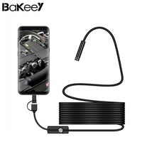High Quality Bakeey 3 In 1 5 5mm 6Led Type C Micro USB Endoscope Inspection Camera