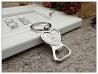 50 /Free Engraved Personalised Wedding Favour Love Heart Keyring Bottle Opener Keychain Personalized Wedding Favor Gift Souvenir