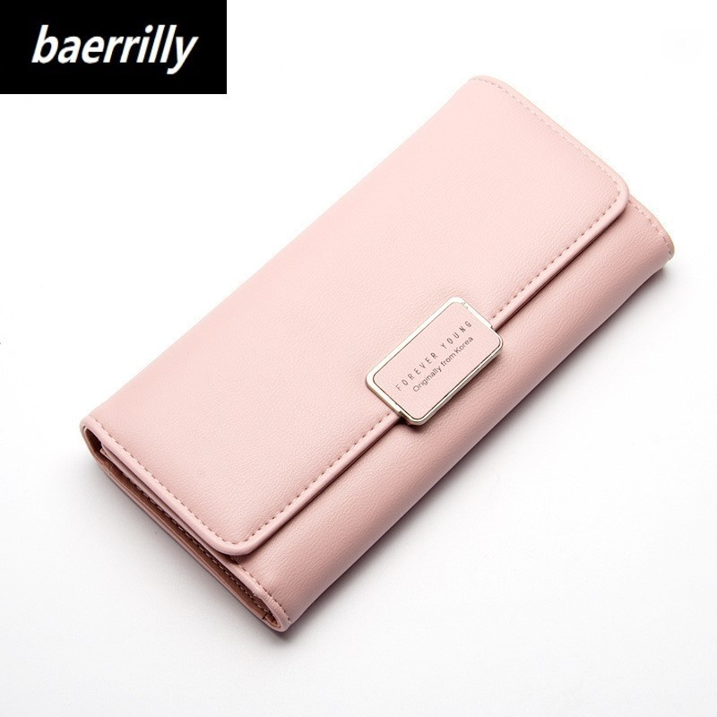 Brand Design Women Long Wallets Candy PU Leather Wallet Day Clutch Female Coin Clutch Card Holder Cell Phone Pocket Lady Purse free shipping women wallets soft pu leather bag bowknot coin purse candy color purses female handbags clutch wallet card holder