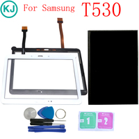 New T530 T531 LCD Display For Samsung Galaxy Tab 4 10.1 SM T530 T535 With Touch Screen Panel Digitizer Glass Lens Tablet PC