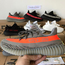 1a9ec56e1a247 high quality Yeezys Air 350 Boost Running Shoes For Men Breathable Women  Sneakers Outdoor Sport Shoes Yeezys 350v2 v2