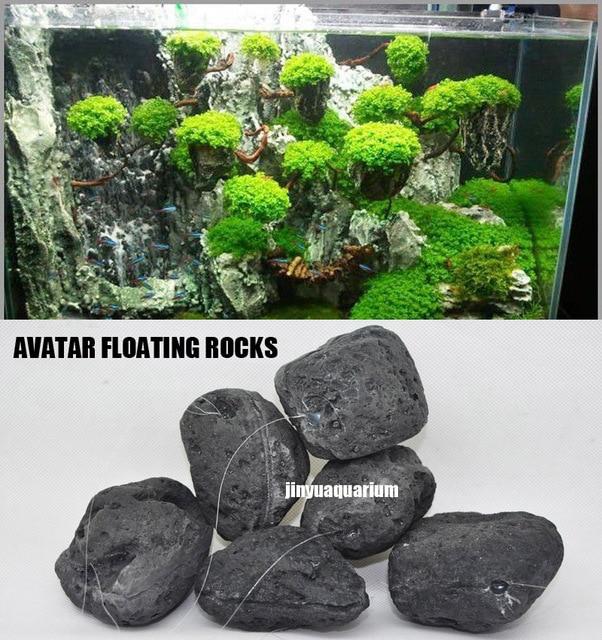 Świeże Pływające skały Avatar wody w akwarium roślin fish tank aquatic UE23