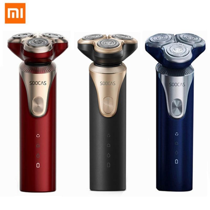 Xiaomi Youpin SOOCAS LINGLANG S3 rasoir électrique rasoir pour hommes sec humide rasage tondeuse à barbe USB Rechargeable étanche rasoirs