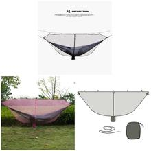Hot Portable Double Person Hammock Mosquito Net for Camping Garden Hunting Travel MCK99