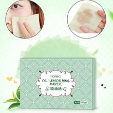100PCS Summer Facial Oil Blotting Sheets Oil Absorbing Papers Facial Cleanser Oil-absorbing paper Shrink Pore Face Cleaning Tool top selling 100pcs pack clear oil absorbing sheets oil control film blotting paper new glossy on both sides for oil blotting
