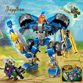 Joyyifor 2313 War of Glory Castle Knights Machine Knight Mecha Model Building Blocks Figure Toys For Children Compatible LegoING
