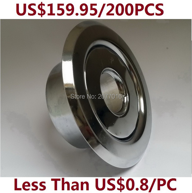 200pcs 1 2 ips fire sprinkler escutcheon recessed for Fire sprinkler system cost calculator