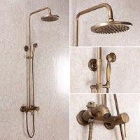 2015ใหม่ห้องอาบน้ำฝักบัวชุดรอบทองเหลืองD Oucheแฟชั่นห้องน้ำโบราณห้องอาบน้ำฝักบัวทองแดงคู่ชุด...