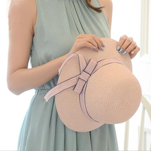 Ribbon Round Vaulted Top Straw Fedora Panama Hat Lady Boater Sun Caps Summer Hats For Women Straw Hat Snapback Gorras ht915 women boater sun caps ribbon bow round flat top straw fedora panama hat summer hats for women white straw beach sun hats