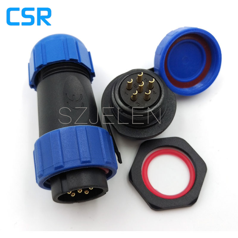 SP2110/P6-S6, 6 pin ip68 waterproof connector, automotive sealing Connector, Board to Wire Connectors 6 pin plug socket original roland sp 300 sp 300v sp 540v panel board w840605010 printer parts