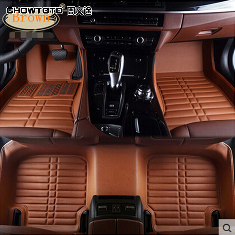 CHOWTOTO AA Custom Special Floor Mats For Audi Q5 Easy To Clean Durable Non-slip Carpets For Q5 Foot Carmat