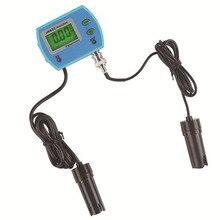 Healthy Digital PH Meter + Automatic EC Tester Water Analysis Monitor Waterproof Quality Acidity Meter For Aquarium Pool