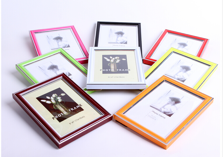 Marco de fotos de plástico A3 a4 barato plástico marcos de cuadros ...