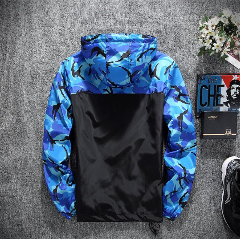 yizlo jackets men camo jacket windbreaker jaqueta masculina mens camouflage jacketsbumpybeast Summer Wind Camo Windbreakers in Jackets from Men 39 s Clothing