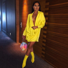 Buy yellow dresses elegant and get free shipping on AliExpress.com c8f58fe87475