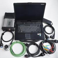 Новый Звезда инструменту диагностики mb sd c5 с ноутбуком cf 52 toughbook i5cpu установлен с 2018,09 В ssd программное обеспечение для mb звезда c5
