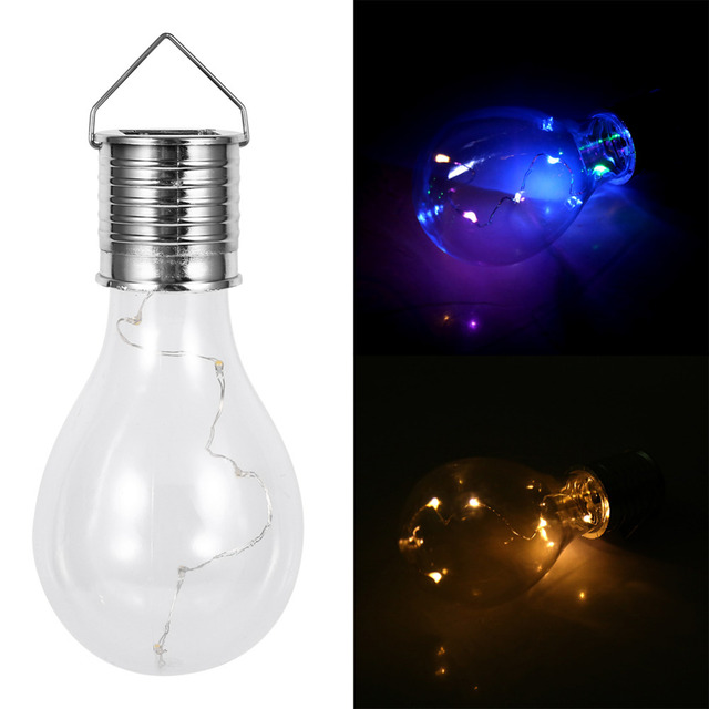 Solar light bulbs powered rotatable hanging bulbs outdoor solar light bulbs powered rotatable hanging bulbs outdoor waterproof garden camping hanging led light lamp bulb mozeypictures
