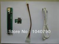 2pcs Lot PCI E PCI E Express 1X To 16X Riser Card USB 3 0 Extender