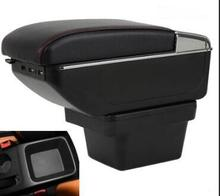 цена на For Chery Tiggo 3X armrest box central Store content box with cup holder ashtray decoration With USB interface
