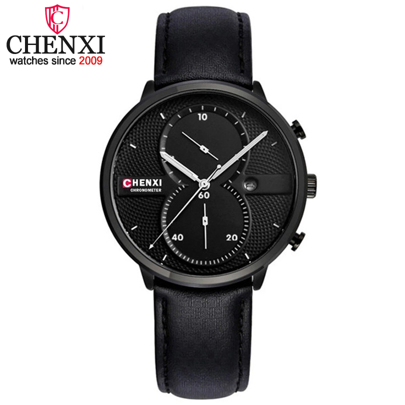 CHENXI Relogio Masculino Man Watch Chronograph Mens Watches Top Brand Luxury Sports Watches Men Clock Quartz WristWatch Male New 2017 top luxury brand skmei quartz watch men wristwatch clock male quartz watch mens military sports watches relogio masculino