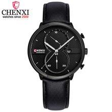 CHENXI Relogio Masculino Man Watch Chronograph Mens Watches Top Brand Luxury Sports Watches Men Clock Quartz