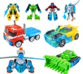 Promotion Deformation Rescue Bots Action Figures Toys Bumblebee/Optimus/Bulldozer/Helicopter Robots Gift for Boys