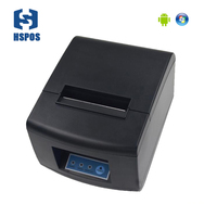80mm bluetooth thermal receipt printer with free android SDK USB port bill printing machine HS-835UA