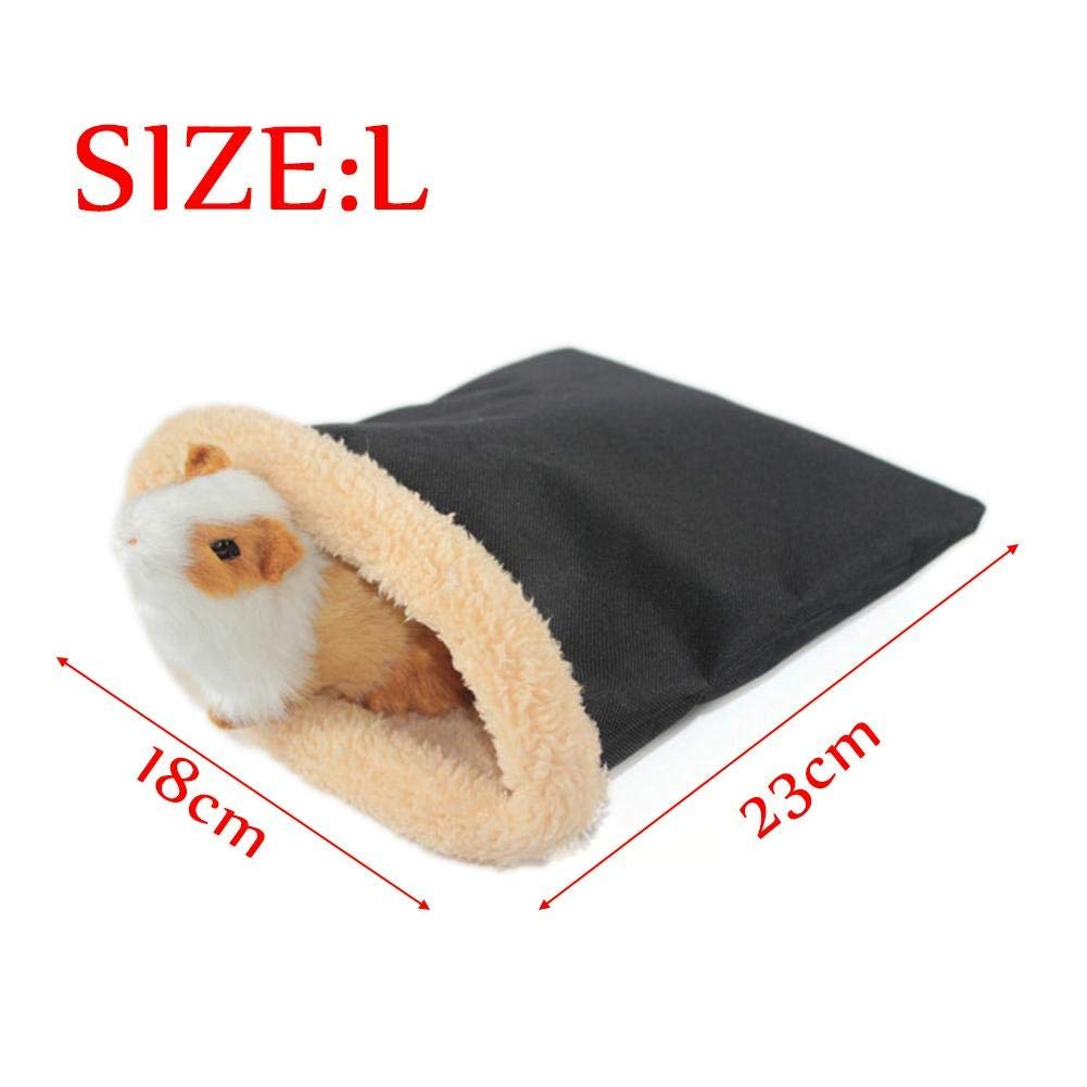 Small Pet Hamster Sleeping Bag Pouch Soft Warm House For Winter Guinea Pig Hedgehog 899
