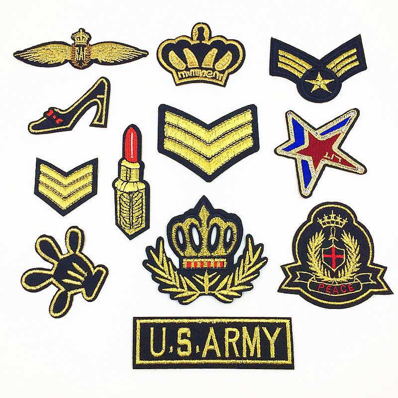 1 Piece Clothing patch Badges For Military style Embroidery For Clothes Bag  Shoes and Hats Patches DIY Sewing Accessories f05eb6a874a