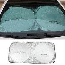 Автомобильные аксессуары передний солнцезащитный Козырек Наклейка для Audi Sline BMW E39 E53 E53 E90 для Mercedes Benz A180 B200 AMG CLA GLA VW Passat Golf