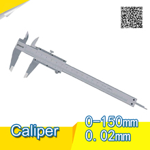 Promo offer Free Shipping SHAHE 0-150 mm Stainless steel Vernier Caliper Scale Depth gauge Gauge Calliper stainless vernier caliper