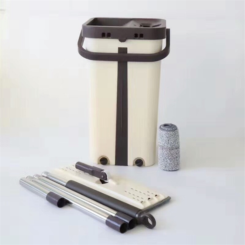 Pulvérisation magique vadrouille automatique éviter le lavage des mains Ultrafine Fiber chiffon de nettoyage maison cuisine plancher en bois paresseux vadrouille