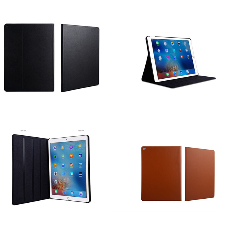 Fashion tablet leather cover for apple ipad pro case 12.9 inch High quality luxury wallets flip with stand  for ipad pro 12.9'' shockproof case for ipad pro 10 5 military duty armor kickstand pc silicone stand cover case for apple ipad pro 10 5 inch tablet