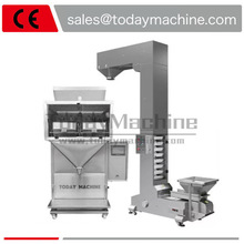 Auto small weighing filling machine mini semi automatic rice granule sugar spice food particle tea bag filling machine auto weighing machine granule filling and packing machine