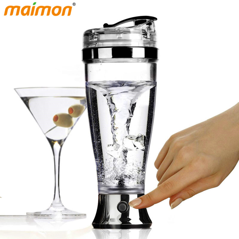 Portable Self Stirring Automatic Chocolate Coffee Drink Mixer Bottle Juice Protein Shaker Bottle Powder Blender Bottle Mixer
