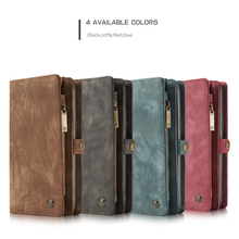 CaseMe Genuine Leather Wallet Case For Samsung font b Galaxy b font font b S8 b