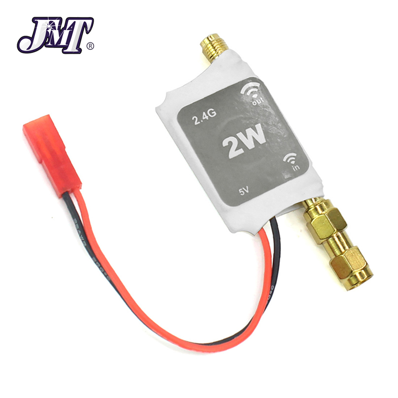 JMT 2.4G Radio Signal Amplifier Remote Control Signal Booster for RC Model Quadcopter Multicopter Drone 2 4g radio signal amplifier signal booster white black radio aeromodelos voiture radiocommande propersanal rc transmitter