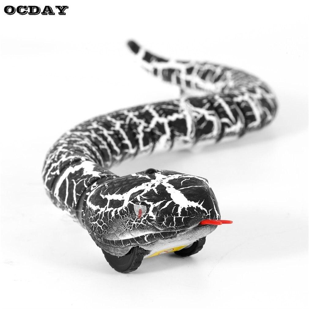 Ocday RC Control remoto serpiente y huevo cascabel animal terrorífico travesura Juguetes para niños Funny novedad regalo nuevo caliente