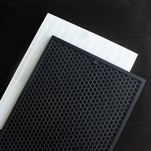 Image 1 - FU 888SV Hepa Actived Carbon Filter Voor Sharp FU P60S FU 888SV FU 4031NAS FU P40S Luchtbevochtiger Onderdelen Filter