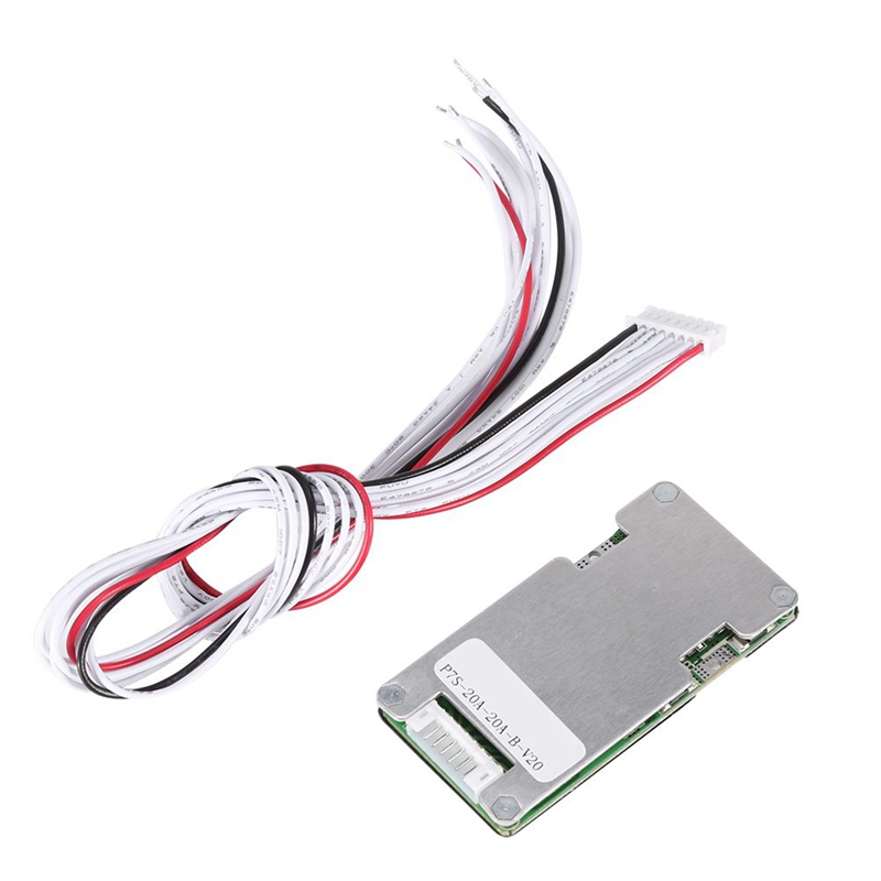 7S 24V 20A Lithium Li-Ion Lifepo4 18650 Battery Bms Pcb Pcm Protection Board With Balance For E-Bike Electric Scooter