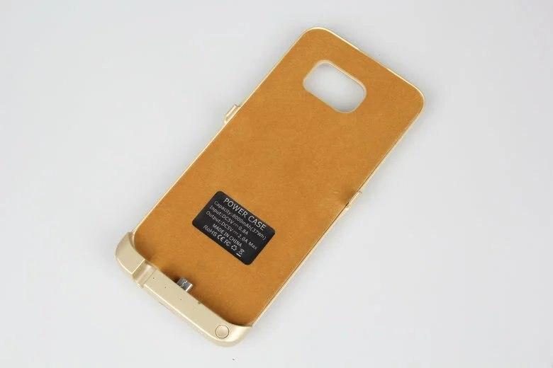 imágenes para Borde Eyoube para Samsung Galaxy S7 8000 mah Recargable Batería Externa Cubierta del Cargador de Reserva para S7 borde