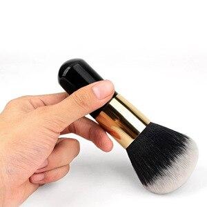 Image 2 - Büyük boy makyaj fırçalar krem vakıf pudra fırçası seti yumuşak yüz allık fırçası profesyonel büyük kozmetik makyaj araçları
