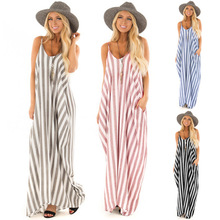 Summer Bohemia  Beach Dress V-Neck Striped Fringe Halter Top Dress fringe detail striped glitter mesh top